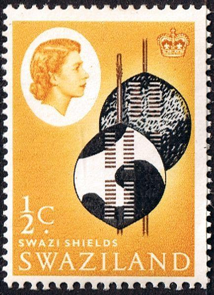 Swaziland 1962 Swazi Shield Fine Mint SG 90 Scott Other Swaziland Stamps HERE