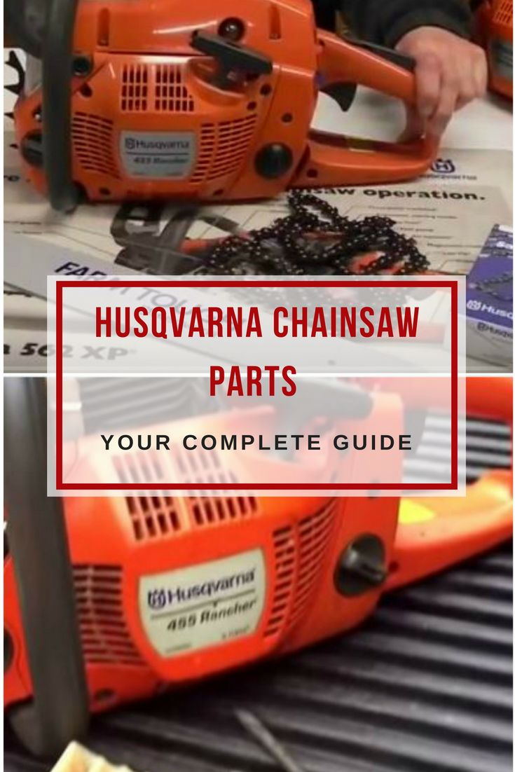 One critical factor when owning a husqvarna chainsaw is maintenance.Learn about the most important husqvarna chainsaw parts and accessories! via @powertoolsninja