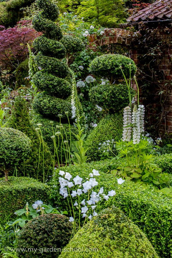 Chelsea Flower Show 2014, Marylyn Abbott, The Topiarist Garden