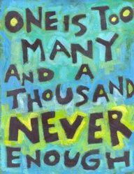 One is too many and a thousand never enough #ODAT #recoverywarriors. #hawaiirehab www.hawaiiislandrecovery.com