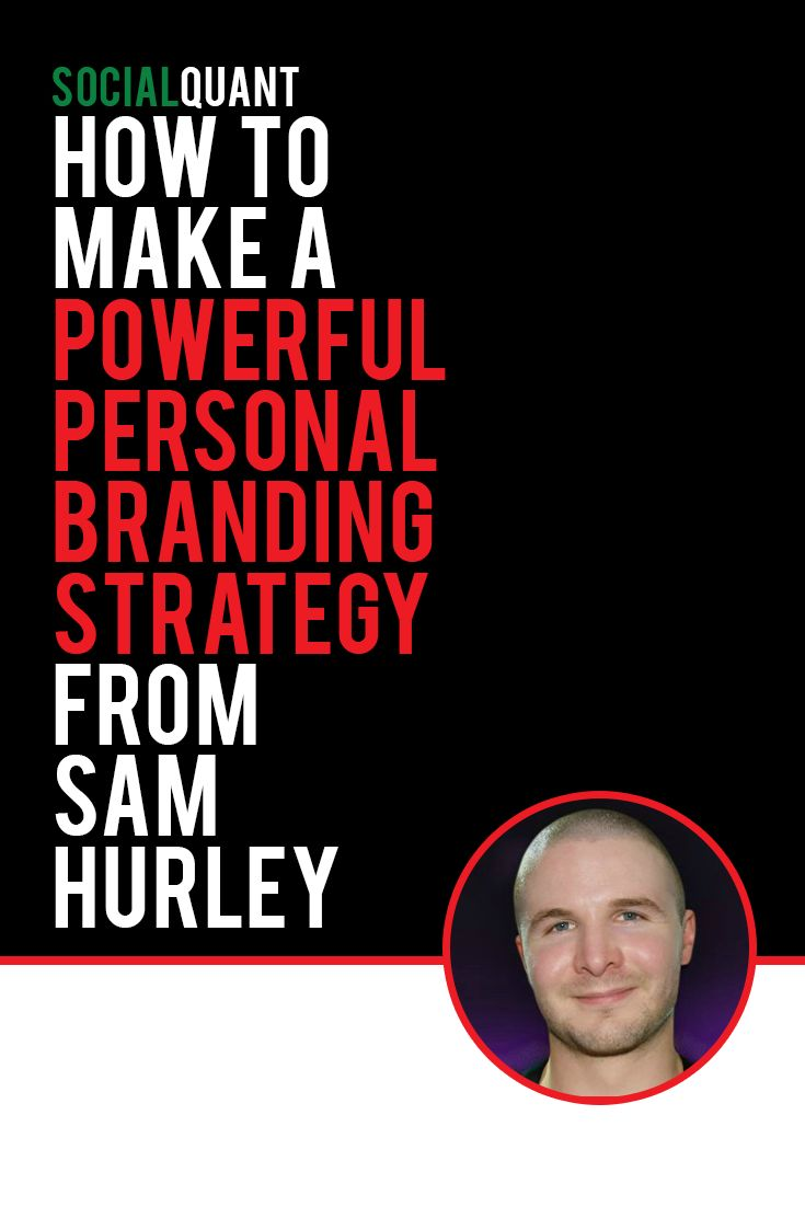 personal branding strategy pinterest