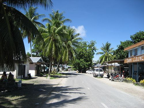 Tuvalu Islands Main City | tuvalu city | Funafuti,Tuvalu | Tuvalu | Pinterest
