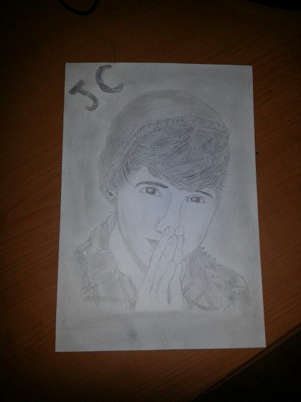 One Of My Drawing JC Caylen YouTuber Drawings