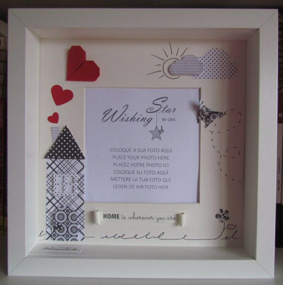 Love Wedding Valentines Day Gift Shadow Box By -3111
