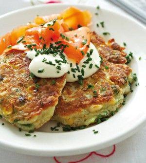 Breakfast corn cakes | Recipes | Pinterest