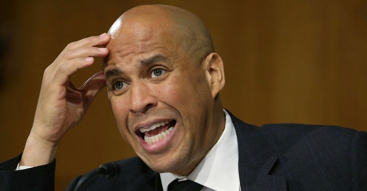 Cory Booker Targets Tech Industry Giants He Previously Embraced ~ Booker launched campaign from Amazon offices, has close ties to Google's Eric Schmidt