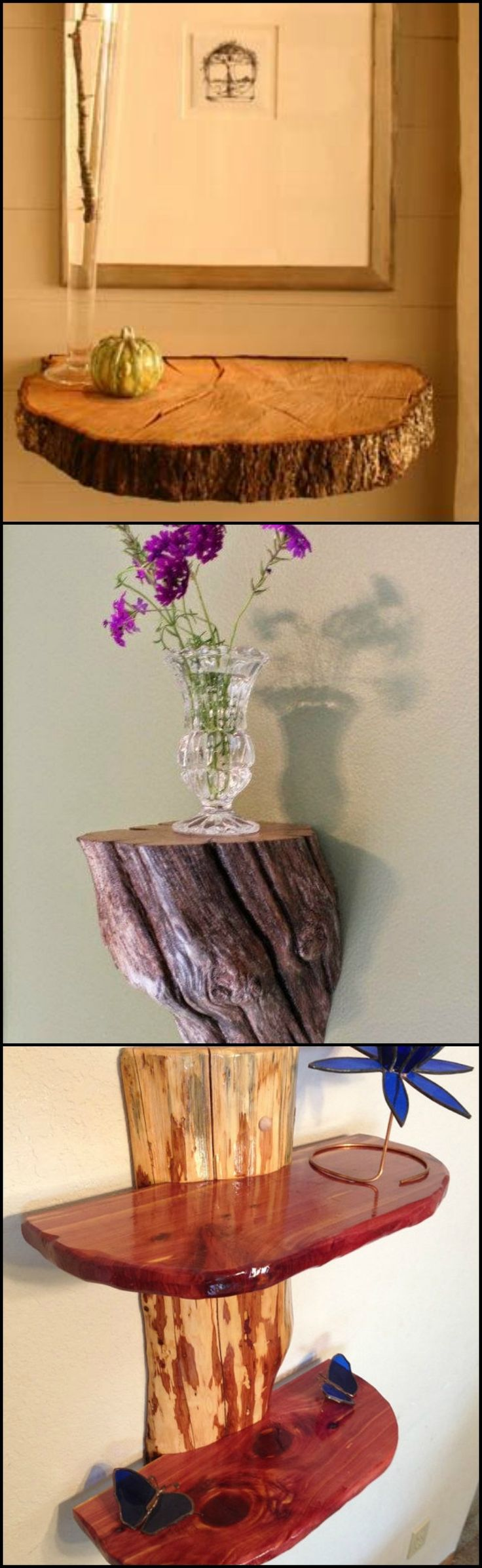 Do you want to make your house look a little more homey?  Adding elements that bring a little bit of nature definitely helps in making any space more pleasant to live in. This is one of the reasons why we put plants inside our homes. But if you feel that they are not enough, then a rustic log decor or furniture should help you achieve that country home feel.