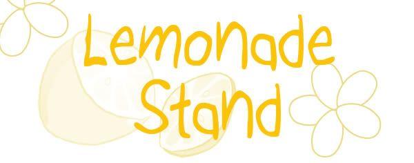 Lemonade Stand 50 Cents