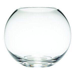 Glass Bubble Fish Bowl Vase