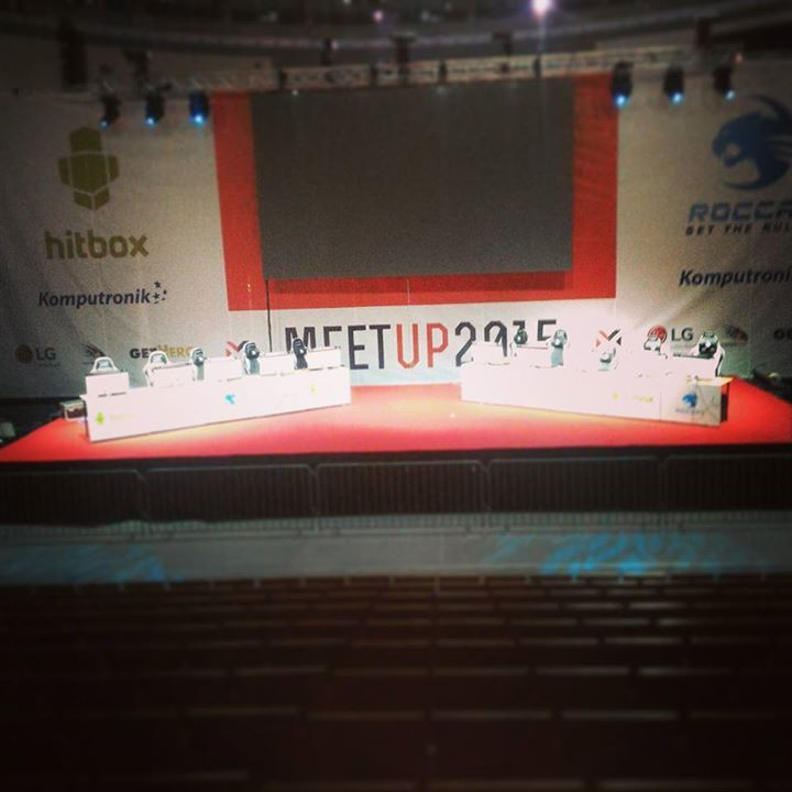 Główna scena turniejowa na MeetUP 2015