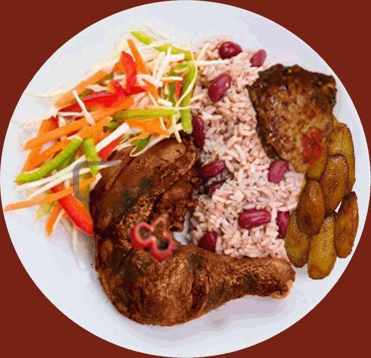 19 best jamaican food images on pinterest caribbean food jerk chicken recipe forumfinder Images