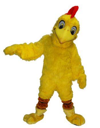 Kip mascottes deluxe  Kip mascotte luxe. Een geel met rode luxe mascotte van een kip. De luxe kip mascottes hebben een ingebouwde circulatiesysteem voor verkoeling. Kip mascottes van luxe stof kwaliteit. Voor andere dieren mascottes kunt u ook terecht in deze shop.  EUR 1195.00  Meer informatie