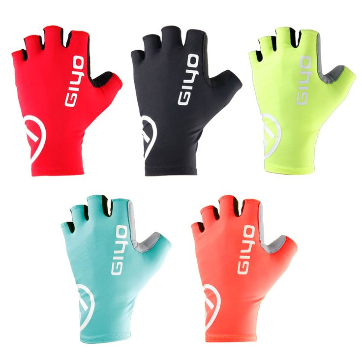 Giyo Breaking Wind Cycling Gloves Half Finger Anti-slip Bicycle Mittens Racing Road Bike Glove MTB Biciclet Guantes Ciclismo #Affiliate