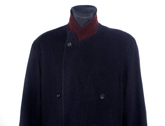 Vintage Mantel Anzug Mantel Second Hand Mode by DesignerSecondHand