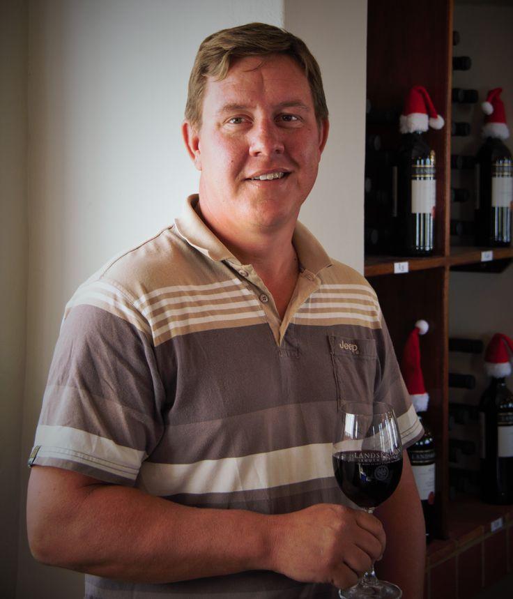 Winemaker at Landskroon Wines:  Michiel du Toit #winemaker #paarl #wines