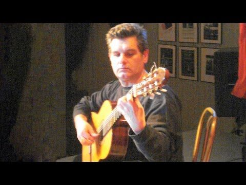 classical guitar: Abel Carlevaro played by Costas Grigoreas: Preludi...