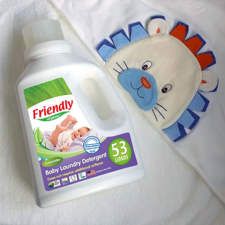 The healthiest way to feel the relaxing effect of lavender on baby clothes! - Friendly Organic Baby Laundry Detergent