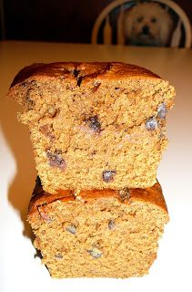 Super moist pumpkin bread Very good! Used coconut oil. Could lessen ...