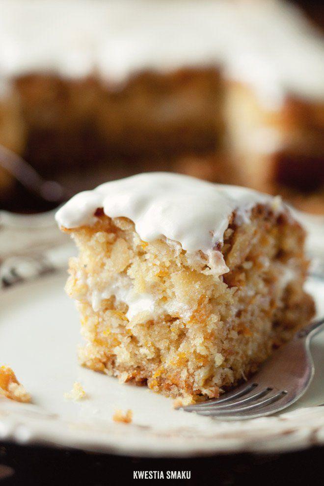 Ciasto dyniowe przekładane