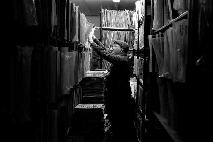 Stacks of Old Wax // Collector's Treasury // Johannesburg // 2013.  Part of my series for the Onesmallseed Southafrica and @Levi Shaffer 501® INTERPRETATION contest. Help me win by voting for my pics here, and I'll buy you that thing you wanted!  @LevistraussSA #501s  Photo: Warren van Rensburg