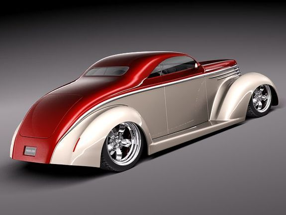 Ford 1937 5-Window Coupe