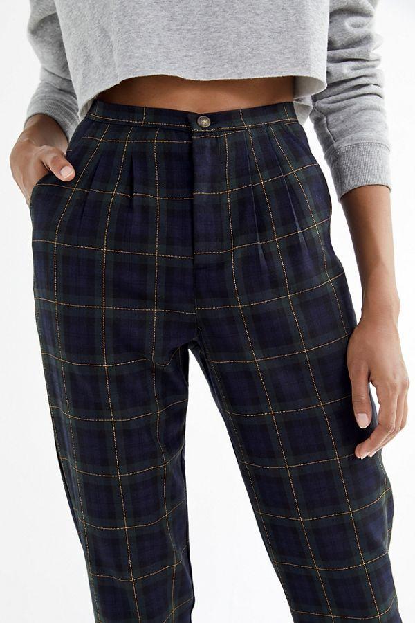 Urban Renewal Remnants Plaid Trouser Pant 17