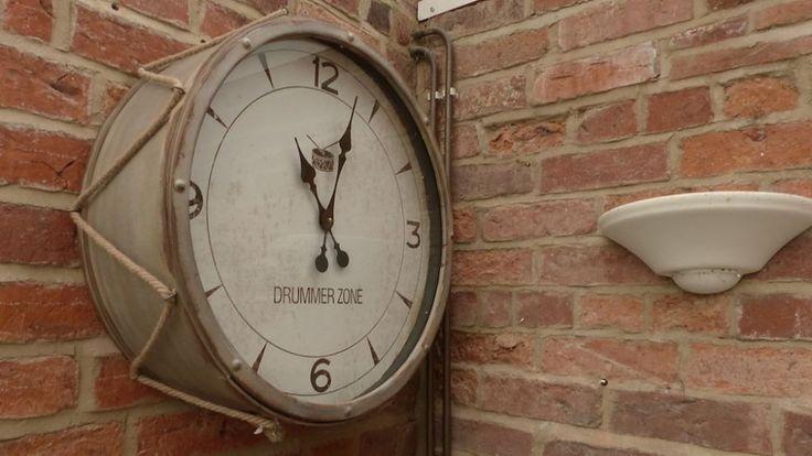 Drummer Clock