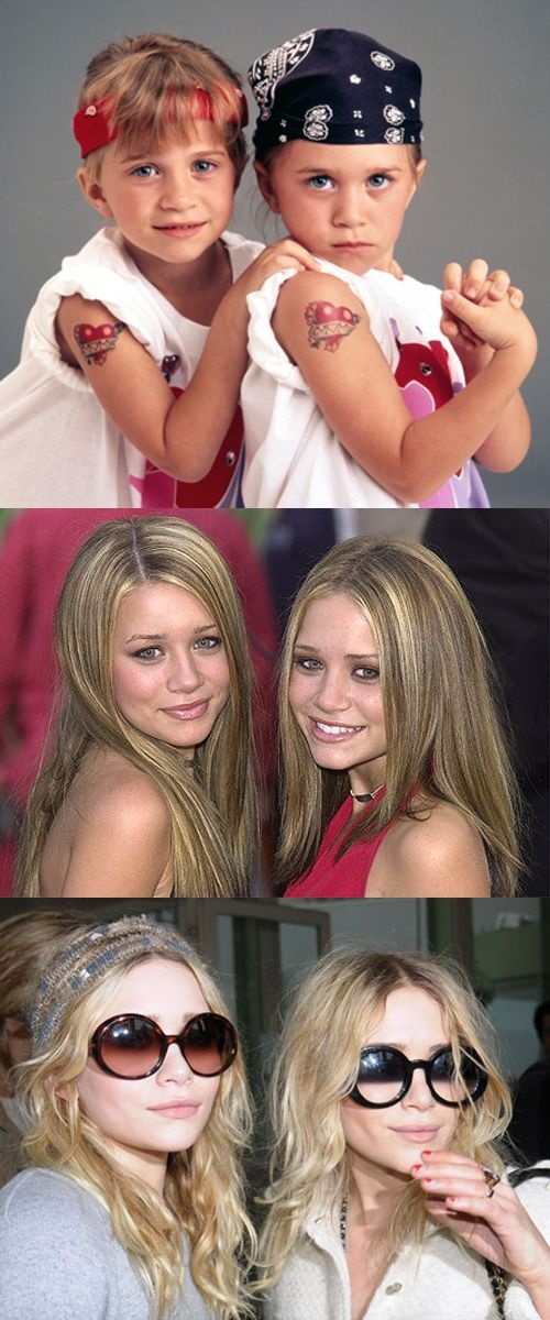 Mary Kate and Ashley Olsen - the twins