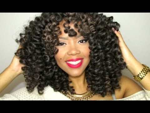 CROCHET BRAID WIG | FROM START TO FINISH! (MARLEY HAIR TAKE #2) - YouTube -This will be a great protective hair style