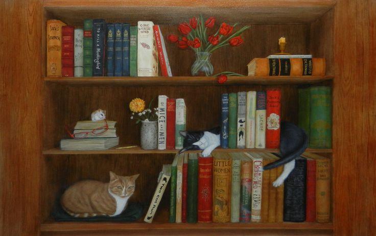 89 fantastiche immagini su libri su pinterest artisti - Stickers trompe l oeil escalier ...