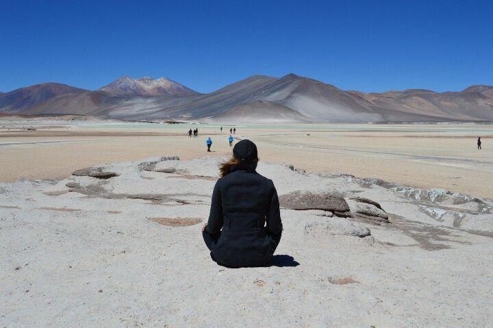 Atacama desert - Talar salt lake   No blog: caminhosdasilvia.blogspot.com.br