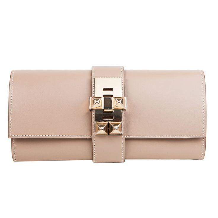 Argyle Medor Hermes Clutch Bag Gold Ghw | Bags | Pinterest ...
