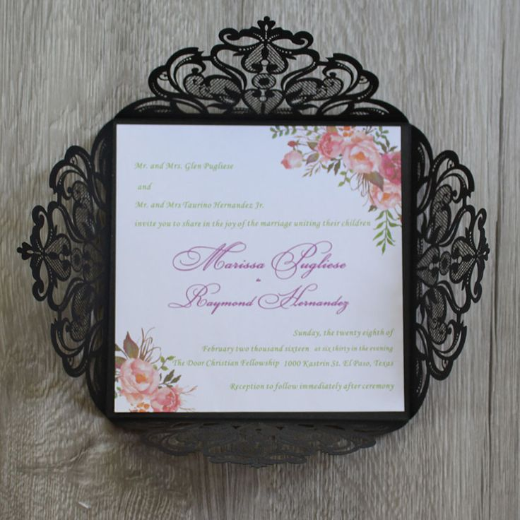 marriage invitation sms on mobile%0A Bohemian Floral Wedding Invitations  Water color Invitations from mobile  site on Aliexpress Now