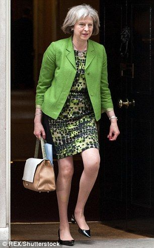 The guru said Theresa May's style included bold colours and animal-print shoes