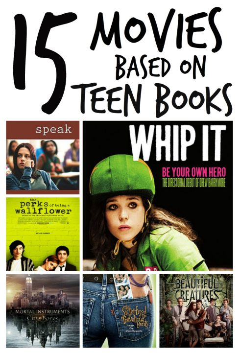 15 Movies Based on Teen Books: Do you prefer to read first and then watch or watch and then read?