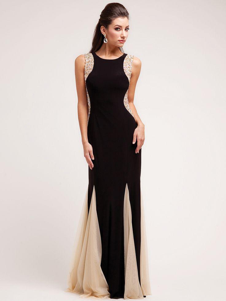 A Black Tie Affair Evening Dress Hallowedding