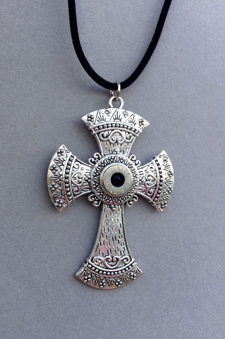 384 best caliber girl bullet jewelry images on pinterest bullet large ornate cross pendant with bullet casing bullet necklace bullet jewelry new lower price aloadofball Images
