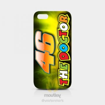 VR 46 The Doctor Valentino Rossi IPhone 5/5S Hardcase by moutley for $14.00