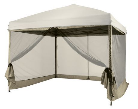 10' x 10'x75'' Mesh Curtain ( for use with 10x10 Gazebo ) available from Walmart Canada. Shop and save Sports & Rec online for less at Walmart.ca