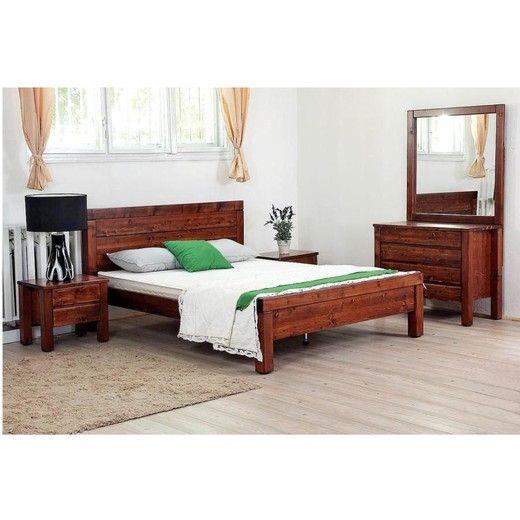 """""""IRISZ"""" fenyőfa ágy"""