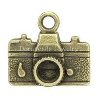 Дорин Коробка Прекрасный Шарм Подвески Камеры Античная Бронзовая (Может Содержать ss16 Горный Хрусталь) 15.5x14 мм, 50 Шт. (K02246)