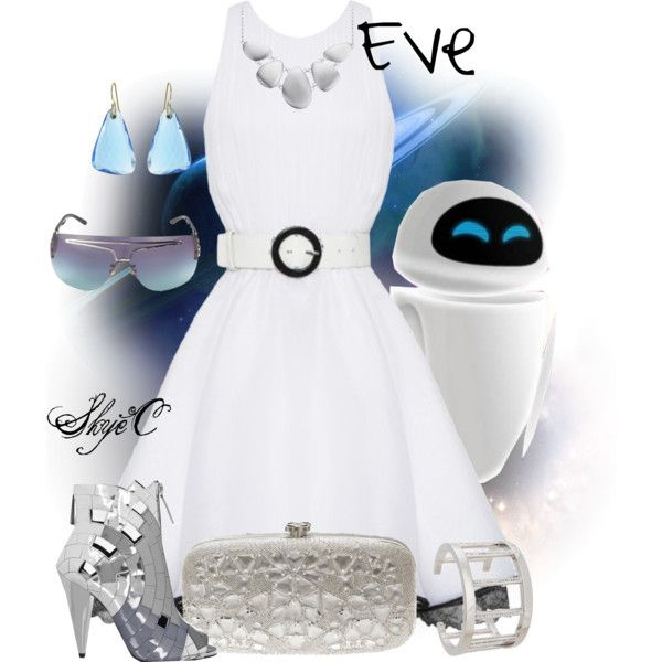 """Eve - Disney Pixar's Wall-E"" by rubytyra on Polyvore"