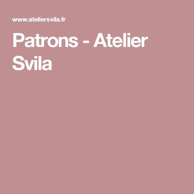 Patrons - Atelier Svila