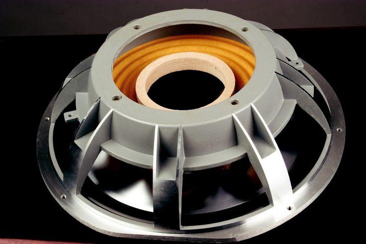 Rear view of the Thiel CS3.7 10 inch passive radiator.