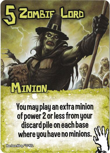 Zombie Lord - Zombies - Smash Up Card | Altar of Gaming