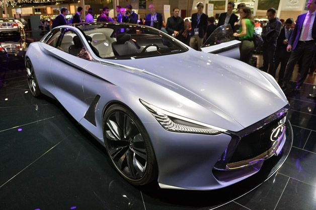 Infiniti Q80 Inspiration imagines future of brand's luxury flagship [w/video]
