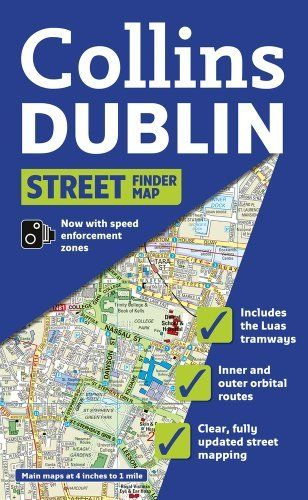Collins Dublin Street Finder Map (Collins Travel Guides) by Collins UK. $7.95. Series - Collins Travel Guides. Publisher: HarperCollins UK; Map edition (May 1, 2013). Publication: May 1, 2013