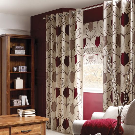 Wine Lalique Curtain Collection Dunelm Decor Livingroom
