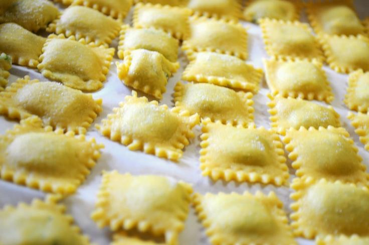 #Ravioli stuffed with ricotta and spinach. #italian #recipe www.marilenalacasella.com
