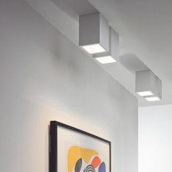 Osca 140 Square Adjustable LED Taklampe